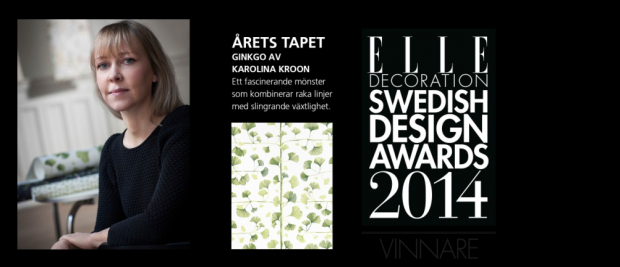Elle Decoration Swedish Design Award 2014